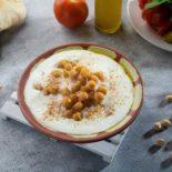 Balila with yogurt