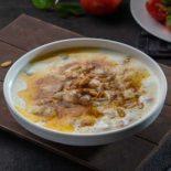 Fattah with yogurt