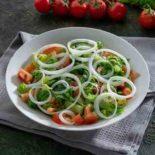 Green vegetables salad 1