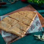 Kashkawane and halloum cheese