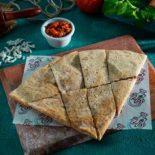 Mhamara and cheese