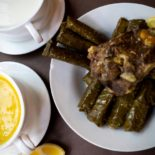 VINE LEAVES WITH MEAT